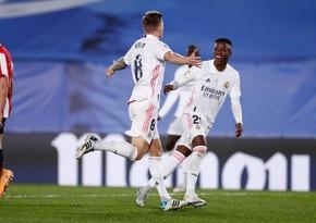 Real La Liqa matçında Atletikə qalib gəlib