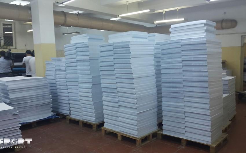 С завтрашнего дня приступят к печати избирательных бюллетеней