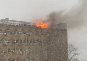 FHN məcburi köçkünlərin binasındakı yanğınla bağlı daha bir məlumat yaydı