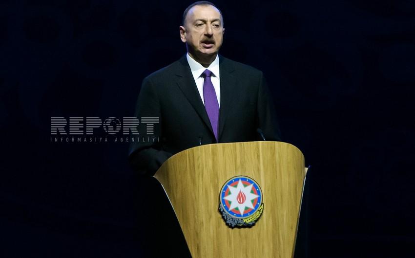 """Prezident İlham Əliyev: """"Azərbaycan demokratik inkişafa sadiqdir"""""""