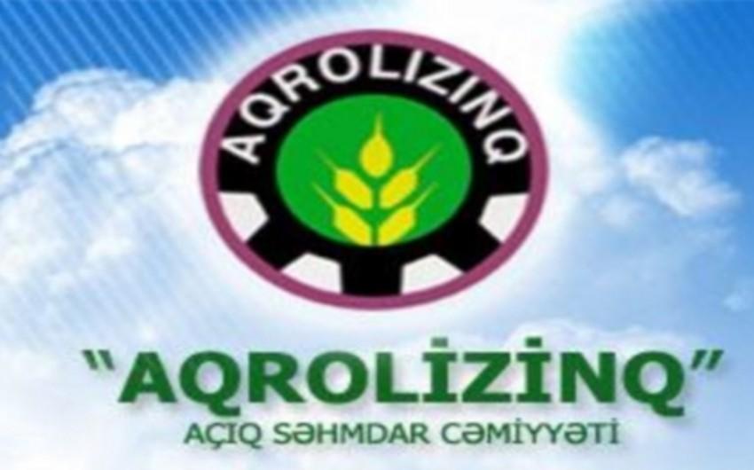 """""""Aqrolizinq"""" ASC-nin 8 filial rəhbəri işdən azad edilib"""