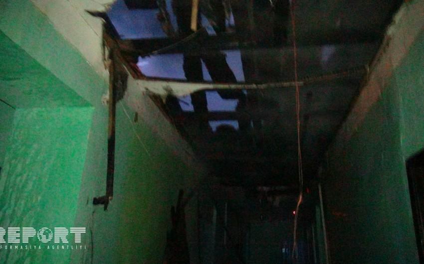 Qubada məktəb binasında yanğın olub - FOTO - VİDEO - YENİLƏNİB