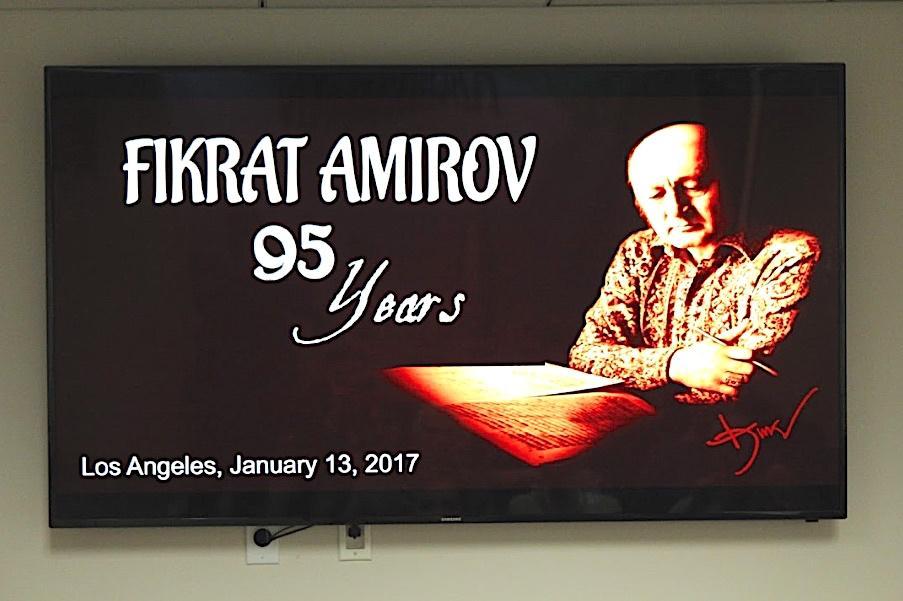 Azerbaijani composer Fikret Amirov remembered in Los Angeles