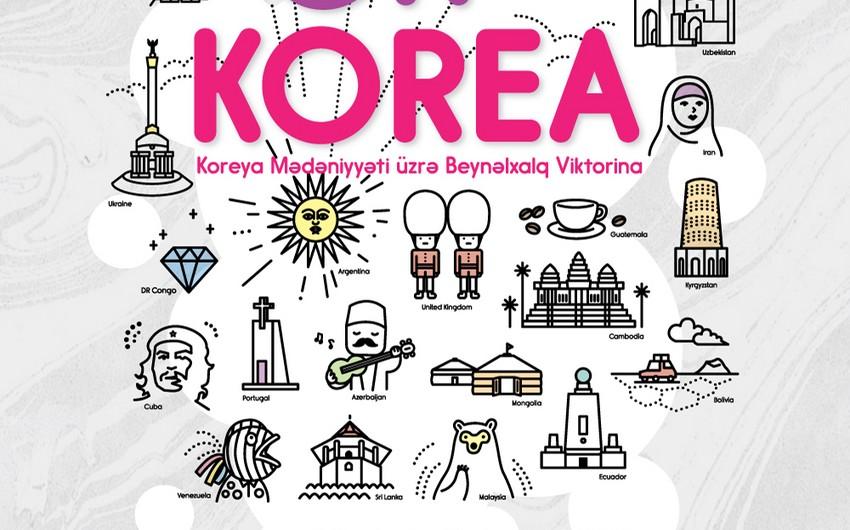 Cənubi Koreya səfirliyi Bakıda viktorina təşkil edəcək