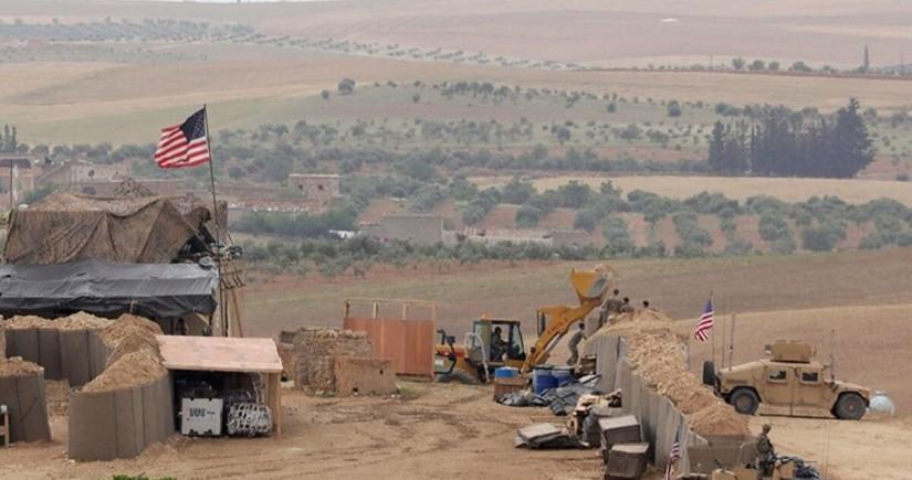Suriyada koalisiyanın hərbi bazası raket atəşinə tutulub