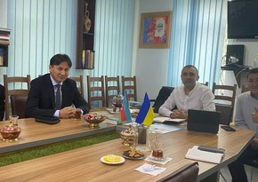 В Киеве состоялась встреча азербайджанских и кыргызских диаспор