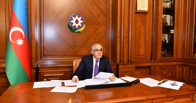 Government of Azerbaijan discusses restoration of liberated territories