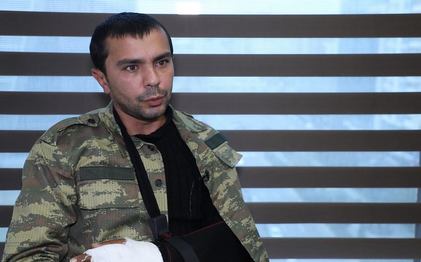 Qazi: Beş saat pusquda qalandan sonra yaralandıq