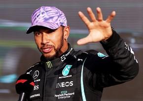 Formula 1: Hemilton öz bolidi ilə mexaniki vurub