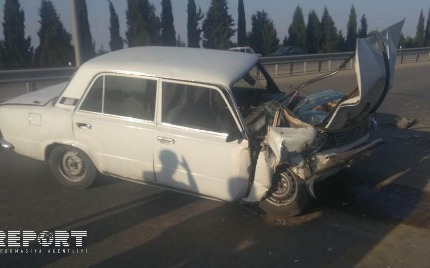 Четыре человека пострадали в аварии на северо-западе Азербайджана