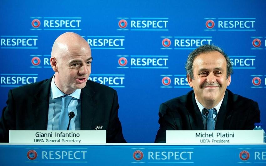 Mişel Platini: FIFA prezidenti istefa verməlidir