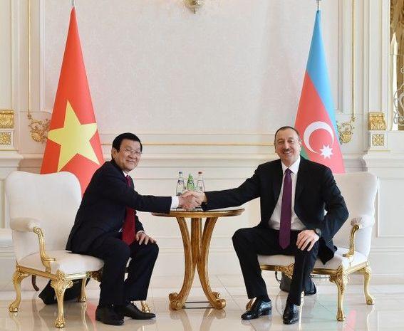İlham Əliyev Vyetnam Sosialist Respublikasının prezidentinə təbrik məktubu göndərib