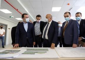 Премьер-министр Грузии посетил новую азербайджаноязычную школу