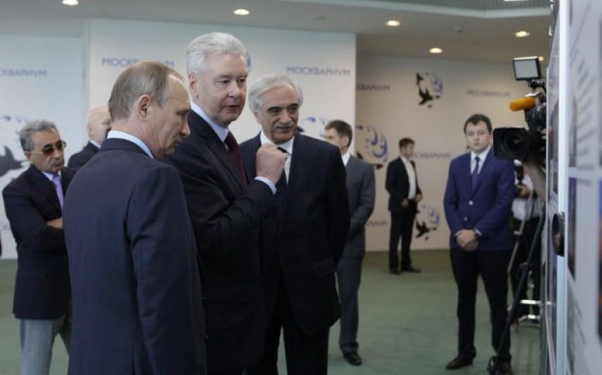 Moskvada Azərbaycan əsilli biznesmenlərin tikdiyi Mərkəzin açılış mərasimi olub