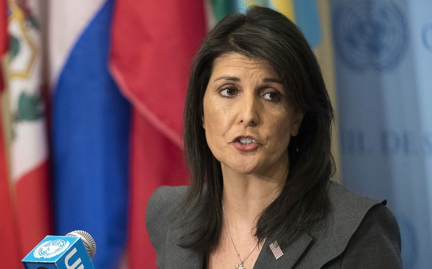 Хейли советует не испытывать решимость Трампа снова применить силу в Сирии