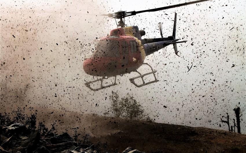 Zimbabvedə hərbi helikopter qəzaya uğrayıb, ölənlər var