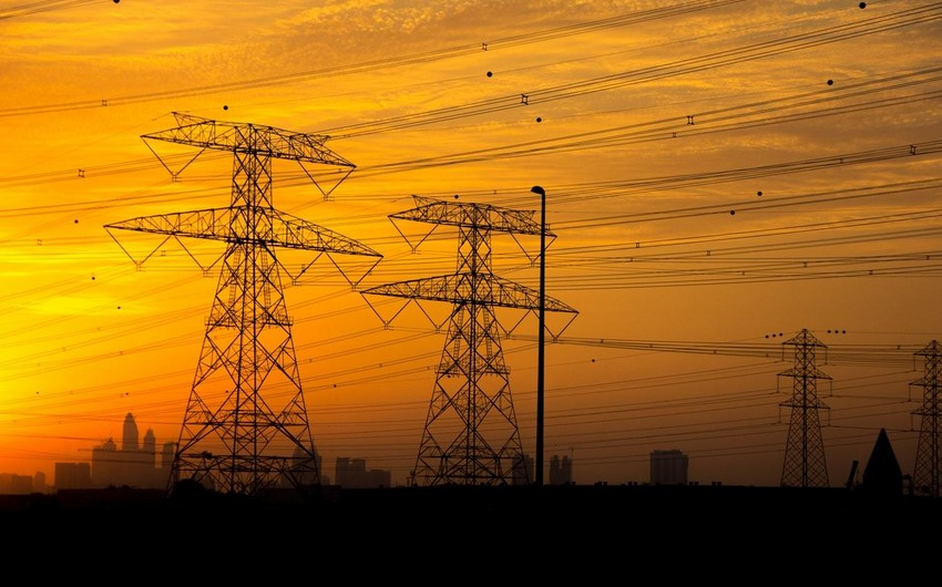 Azərbaycanda elektrik enerjisi, qaz və buxar istehsalı artıb