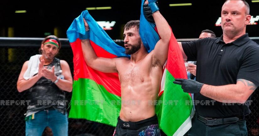 US Azerbaijani reaches final of international tournament in mixed martial arts
