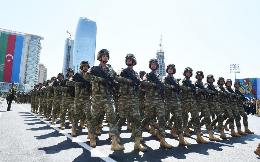 Azerbaijani army ranks first in South Caucasus in military strength