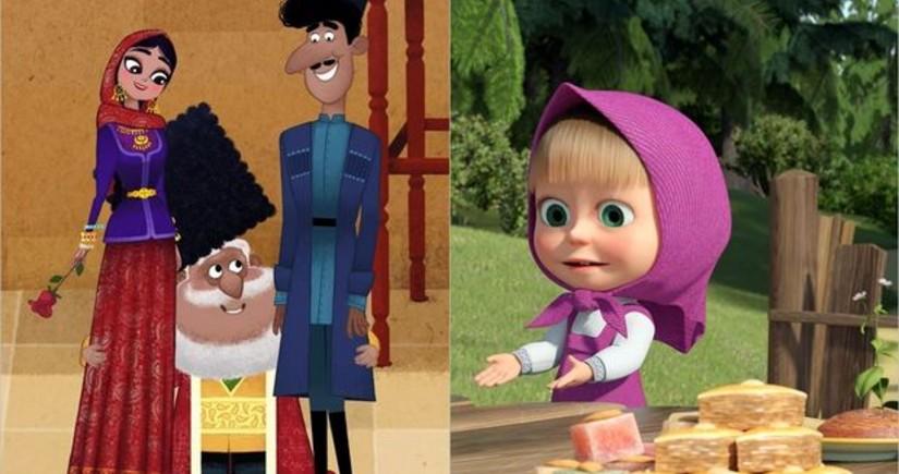 Новая серия мультфильма Маша и Медведь посвящена Азербайджану