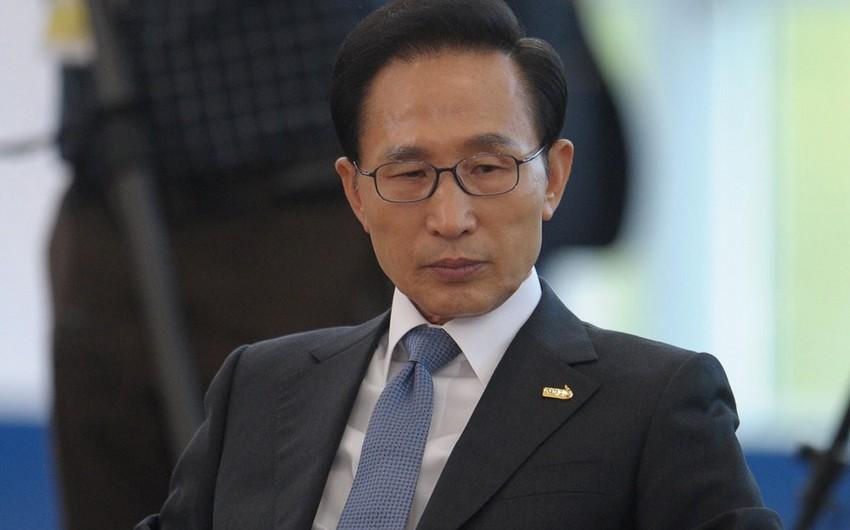 Cənubi Koreyanın sabiq prezidenti 15 il həbs cəzasına məhkum edilib