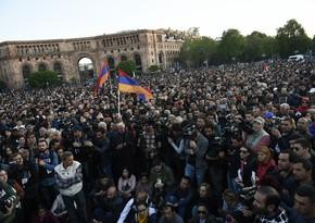 Сегодня армянская оппозиция проведет шествие