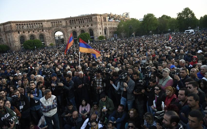 Yerevanda Paşinyan əleyhinə yürüş keçiriləcək