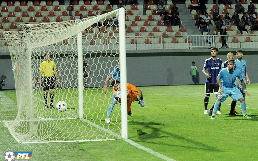 Bu gün futbol üzrə Azərbaycan çempionatında daha iki oyun keçiriləcək