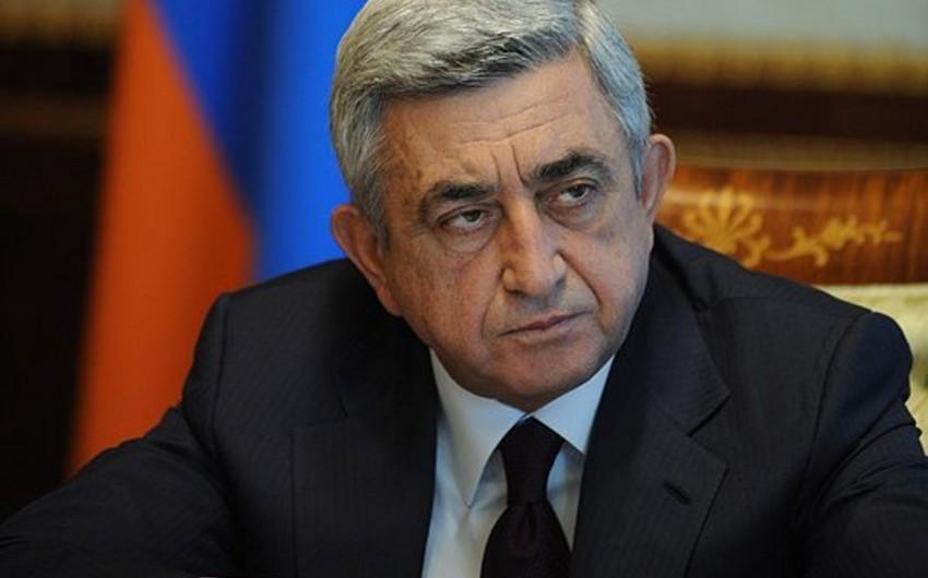 Ermənistanın baş naziri Sarqsyana qarşı cinayət işinin başlanılmasını istəyib