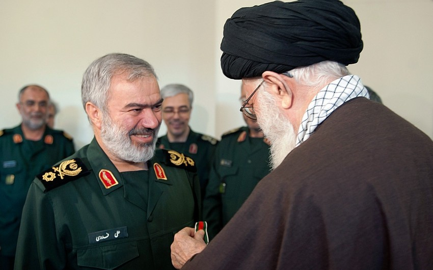 İranın ali rəhbəri Silahlı Qüvvələrdə yeni təyinatlar edib