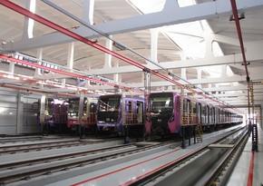 Bakı metrosu üçün alınan yeni vaqonların sayı açıqlanıb