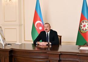 Azərbaycan Prezidenti Dünya İqtisadi Forumunun prezidenti ilə videokonfrans formatında görüşüb - YENİLƏNİB
