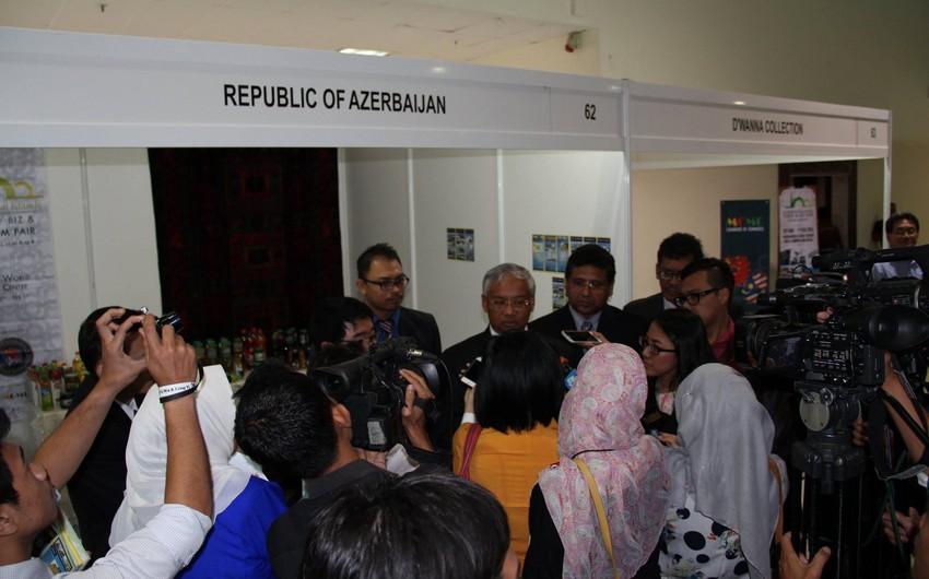 Azərbaycan I Beynəlxalq islam ticarət, biznes və turizm yarmarkasında iştirak edib