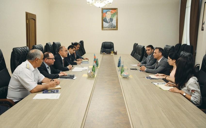 DGK sədri Alman-Azərbaycan Xarici Ticarət Palatasının icraçı direktoru ilə görüşüb