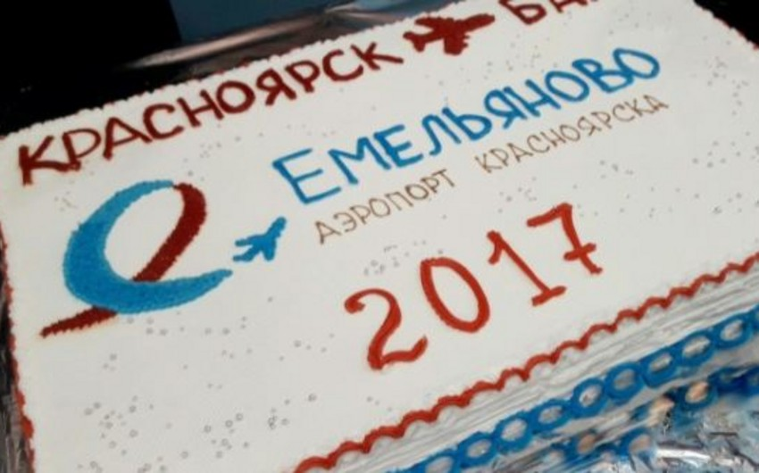 Krasnoyarskdan Bakıya birbaşa aviareys açılıb