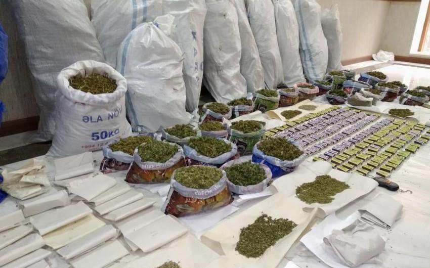 Polis son 6 gündə 110 kq-a yaxın narkotiki qanunsuz dövriyyədən çıxarıb