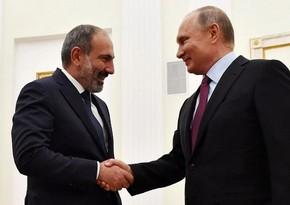 Пашинян солгал Путину о регистрации российской вакцины в Армении
