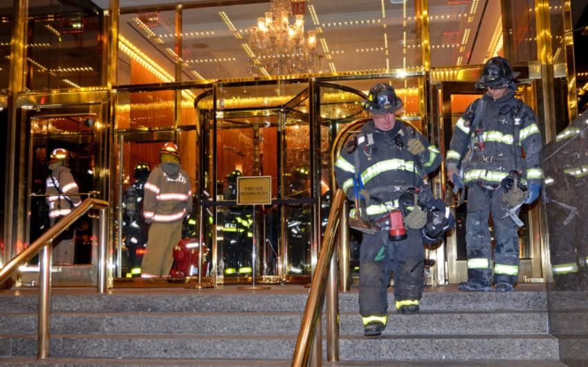 Fire erupts inside Trump International Hotel &Tower, New York