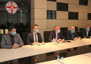 Azərbaycan səfiri Kvemo Kartlinin qubernatoru ilə görüşüb