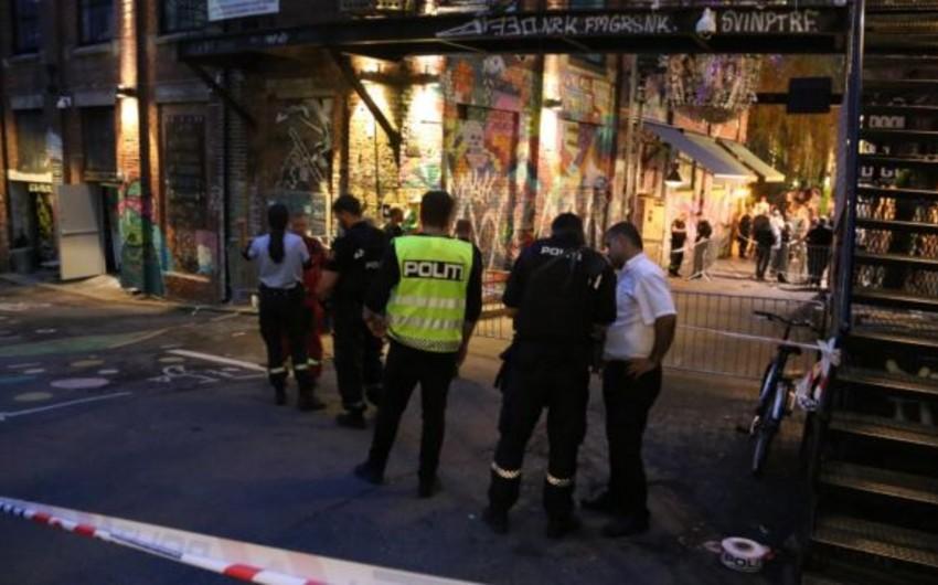 Norveçdə gecə klubu qarşısında atışma olub, yaralananlar var - VİDEO