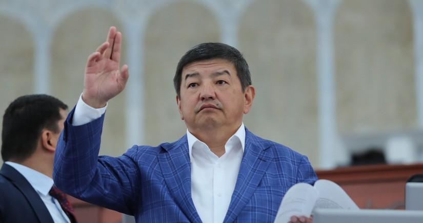 Жапаров принял полномочия президента Кыргызстана