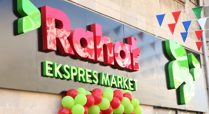 Rahat Market Səbəkəsinin Daha Bir Filiali Acildi Fotolar Report Az