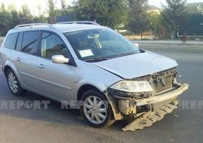 В Джалилабаде столкнулись два автомобиля