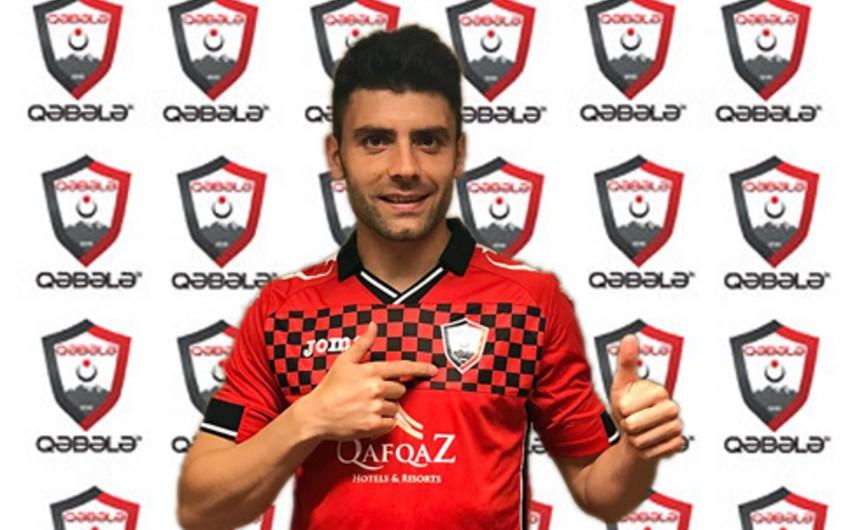 Qəbələ klubu ispaniyalı futbolçu transfer edib