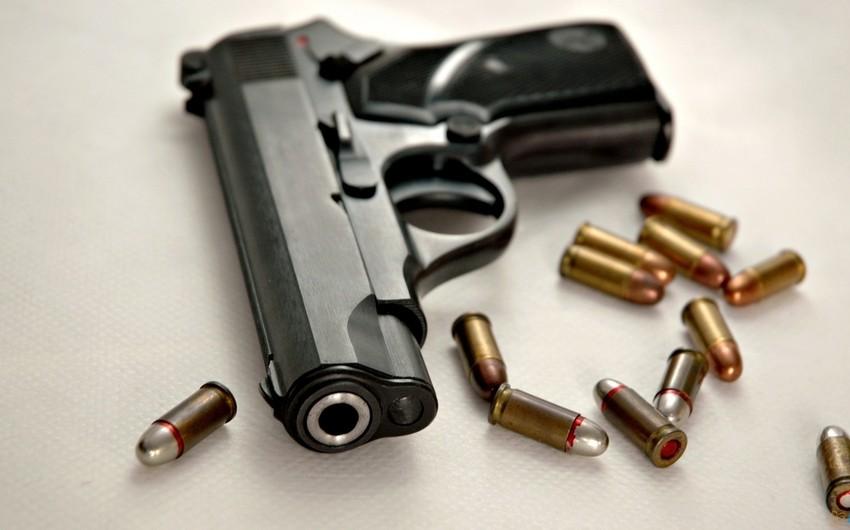 Balakən sakininin evindən silah-sursat götürüldü