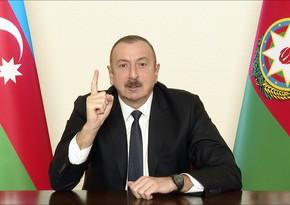 """Dövlət başçısı: """"Bunlar heç vaxt Qafqaz xalqı olmayıb. Sonradan gəlmələrdir"""""""
