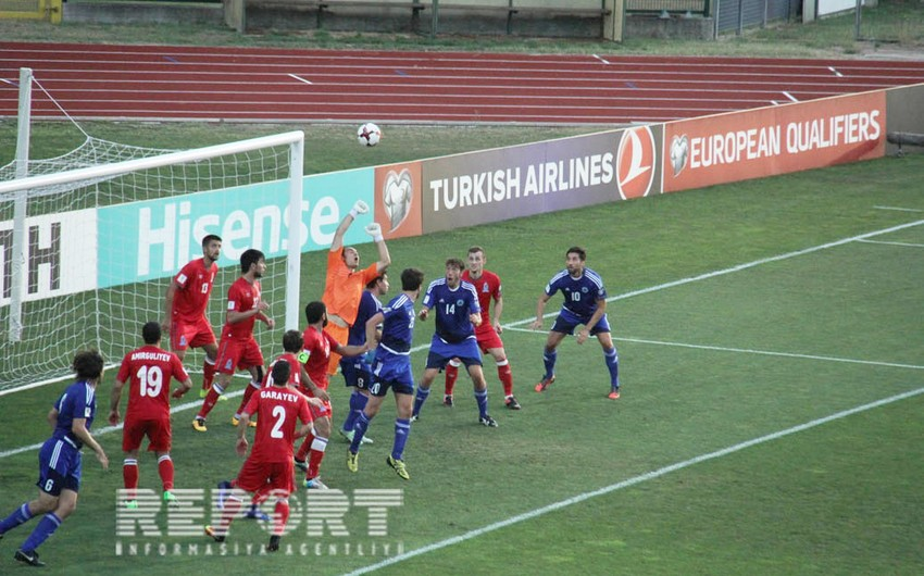 Futbol üzrə Azərbaycan milli komandası FİFA reytinqində 13 pillə geriləyib