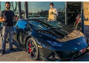 Barselonanın 22 yaşlı oyunçusu ilk qolunu vurub Lamborghini aldı