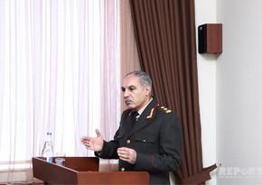 Xanlar Vəliyev: Qeyri-hərbi cinayətlər 18,6% azalıb