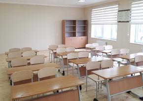 В Зардабе еще две школы переходят на дистанционное обучение